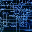 Simple world map — Stock Photo #1841800