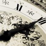 CLOCK - Midnight time — Stock Photo