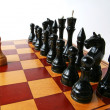 Stock Photo: Strong individual chess