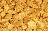 Corn flakes texture — Stock Photo
