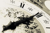 CLOCK - Midnight time — Stock Photo