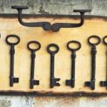 Old rusty key — Stock Photo #1853424