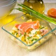 Royalty-Free Stock Photo: Parma ham and potato salad