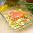 Stock Photo: Parmham and potato salad