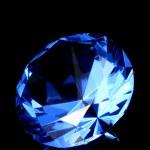 Blue crystal — Stock Photo