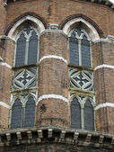 Santa maria gloriosa dei frari - venetië — Stockfoto