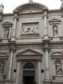 Façade de l'église de san rocco - venise — Photo