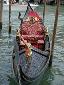 Venice - gondola — Stock Photo