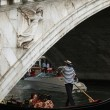 Venice - Rialto brigde and gondola — Photo #1935313