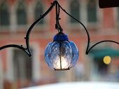 Canal Grande by lamplight - Venice — Stockfoto