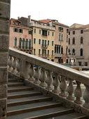 Venetië - canal grande en de rialto brug — Stockfoto