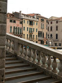 Venice - Canal Grande and Rialto bridge — Stock Photo
