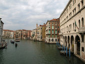 Veneza - grande canal — Fotografia Stock