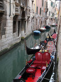 Venice - gondola — Stock Photo