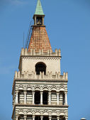 Cathedral St Zeno's - Pistoia — Stock Photo