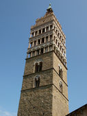 Bell Tower in Piazza Duomo, Pistoia — Stock Photo