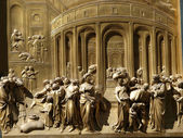 Florencie - křtitelnice — Stock fotografie