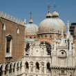 Courtyard of Doges Palace in Venice — Stockfoto #2153753
