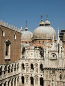 Courtyard of the Doges Palace in Venice — Stock Photo