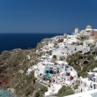 Oia beautiful city in Santorini — Stock Photo