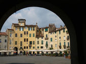The Piazza Anfiteatro - Lucca — Photo