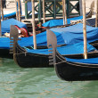 Venice - gondolas — Stock Photo