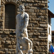 Florence - Sculpture Hercules and Cacus — Stock Photo #2558326