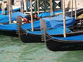 Venice - gondolas — Stock Photo