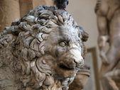 Florencja - piazza della signoria — Zdjęcie stockowe