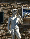 Florença - david de michelangelo — Fotografia Stock