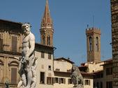 Florença - piazza della signoria — Foto Stock