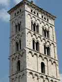 San Michele in Foro church - Lucca — Stock Photo
