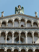 San Michele in Foro church - Lucca — Stockfoto