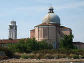 Venice - Church of San Pietro a Castello — Stock Photo