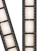 Old retro grunge camera film — Stock Vector