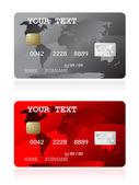 Credit card illustration — Stock Vector