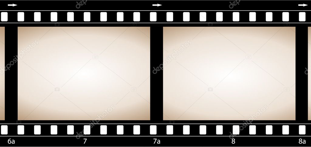 Grunge camera film — Stock Vector #1799643