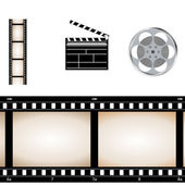 Movie video set — Stock Vector