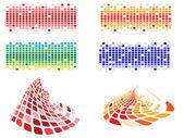 Pixel-hintergrund — Stockvektor