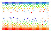 Fondo de pixel — Vector de stock