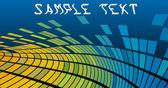 ピクセルの背景 — ストックベクタ