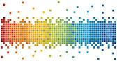 Pixel background — Stock Vector