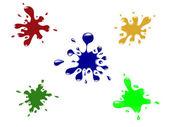 Ink splash — Stock Vector