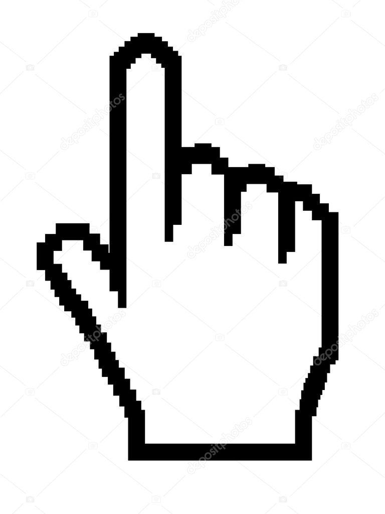 hand cursor � stock vector 169 biljuska1 1800310