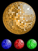 Disco ball — Stock Vector