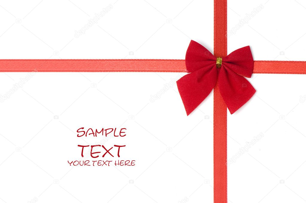 Day Valentine beautiful red  ribbon — Stock Photo #1833676