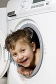 I like washing machine — Stock Photo