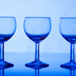 Three glasses — Stock Photo