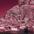 Catalina Island infrared — Stock Photo