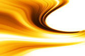 Golden wave — Stock Photo